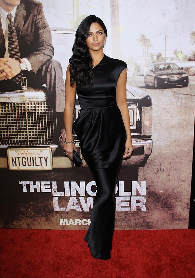 "Camilla Alves at the Los Angeles premiere of <a href=""http://movies.yahoo.com/movie/1810088161/info"">The Lincoln Lawyer</a> on March 10, 2011."