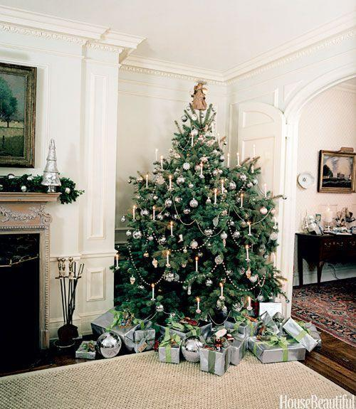 <p>Candles give a Christmas old-fashioned charm—but to avoid a serious fire hazard, use candle lights instead of the real deal.</p>
