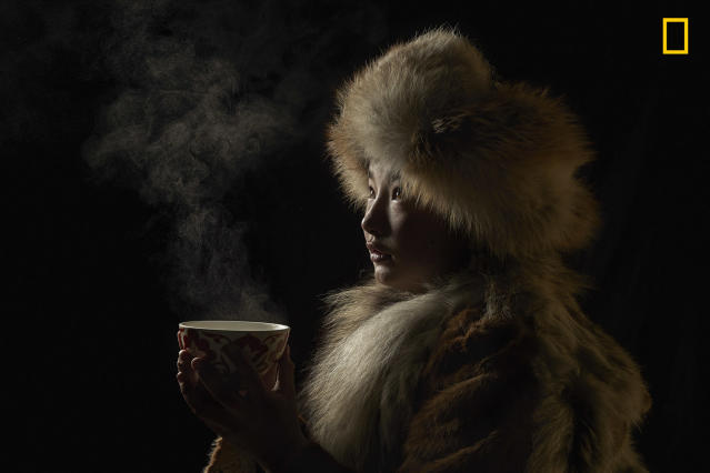 "<p>Photograph and caption by Alessandra Meniconzi/National Geographic Travel Photographer of the Year Contest. — ""Tea isn't just a drink but a mix of tradition, culture, relax, ceremony, pleasure … around the world!"" Altai Mountains, Western Mongolia. </p>"
