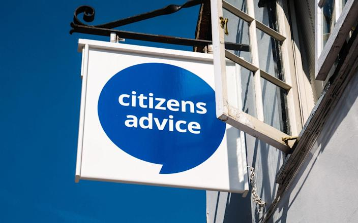 Citizens Advice - Dylan News Images/Alamy Stock Photo