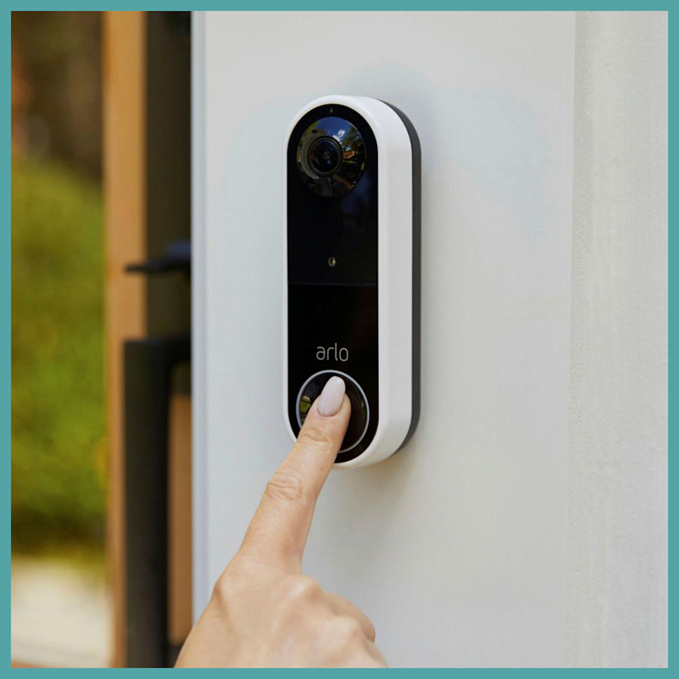 Empowering: This $50-off deal on the Arlo Essential Wireless Video Doorbell. (Photo: HSN)