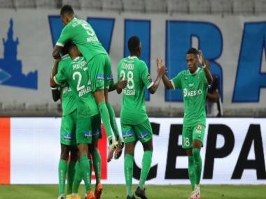 Ligue 1: Saint-Etienne end 41-year wait with away victory against depleted Marseille