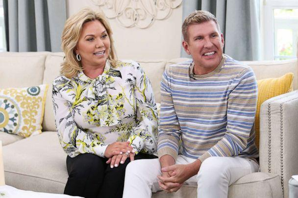 PHOTO: Reality TV Personalities Julie Chrisley and Todd Chrisley visit Hallmark's 'Home & Family' at Universal Studios Hollywood on June 18, 2018 in Universal City, California. (Paul Archuleta/Getty Images)