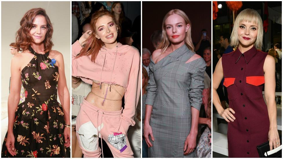 IN PICS: Celebs at NYFW