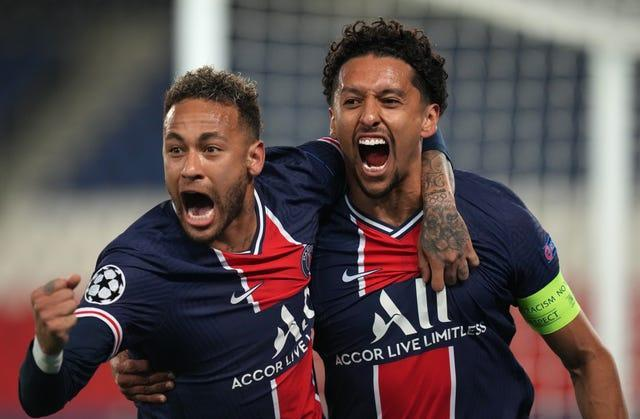 Neymar (left) is likely to be the key man for PSG