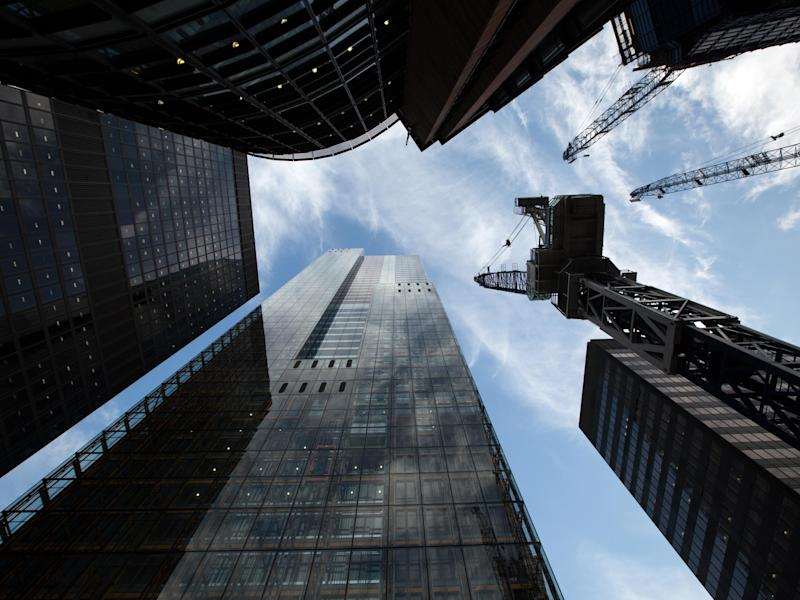 Nine out of ten businesses say that they consider Brexit to be the number one threat to London's status as a global financial hub: Getty
