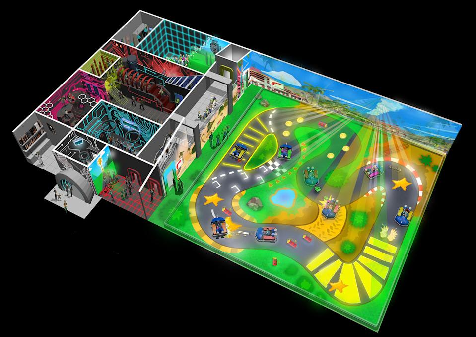 What the track may look likeChaos Karts