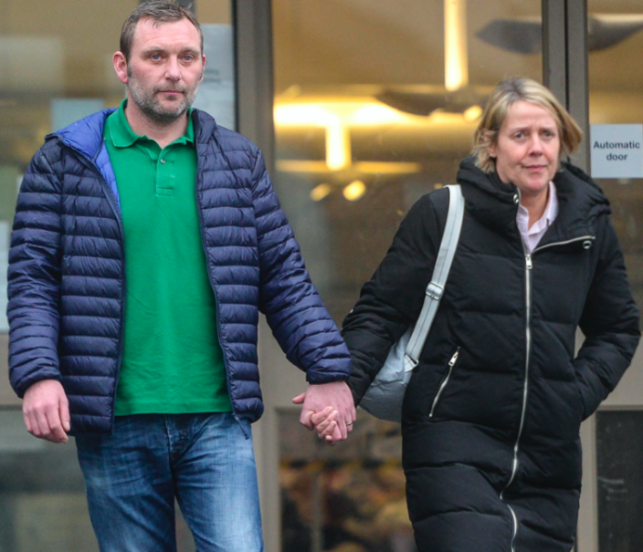 Colin and Angela Dawson have been ordered to stay away from the man involved in the death of their daughter (SWNS)