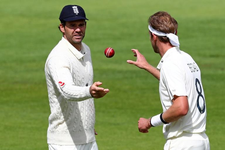England's James Anderson (left) and Stuart Broad have taken more than 1,000 Test wickets between them
