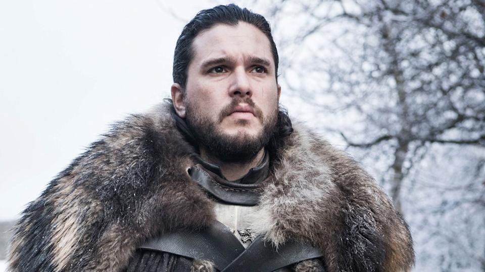 Kit in character as Jon Snow (Photo: HBO)