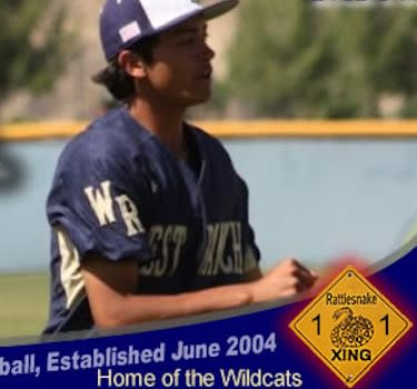 The West Ranch baseball web site features a rattlesnake counter — West Ranch Baseball
