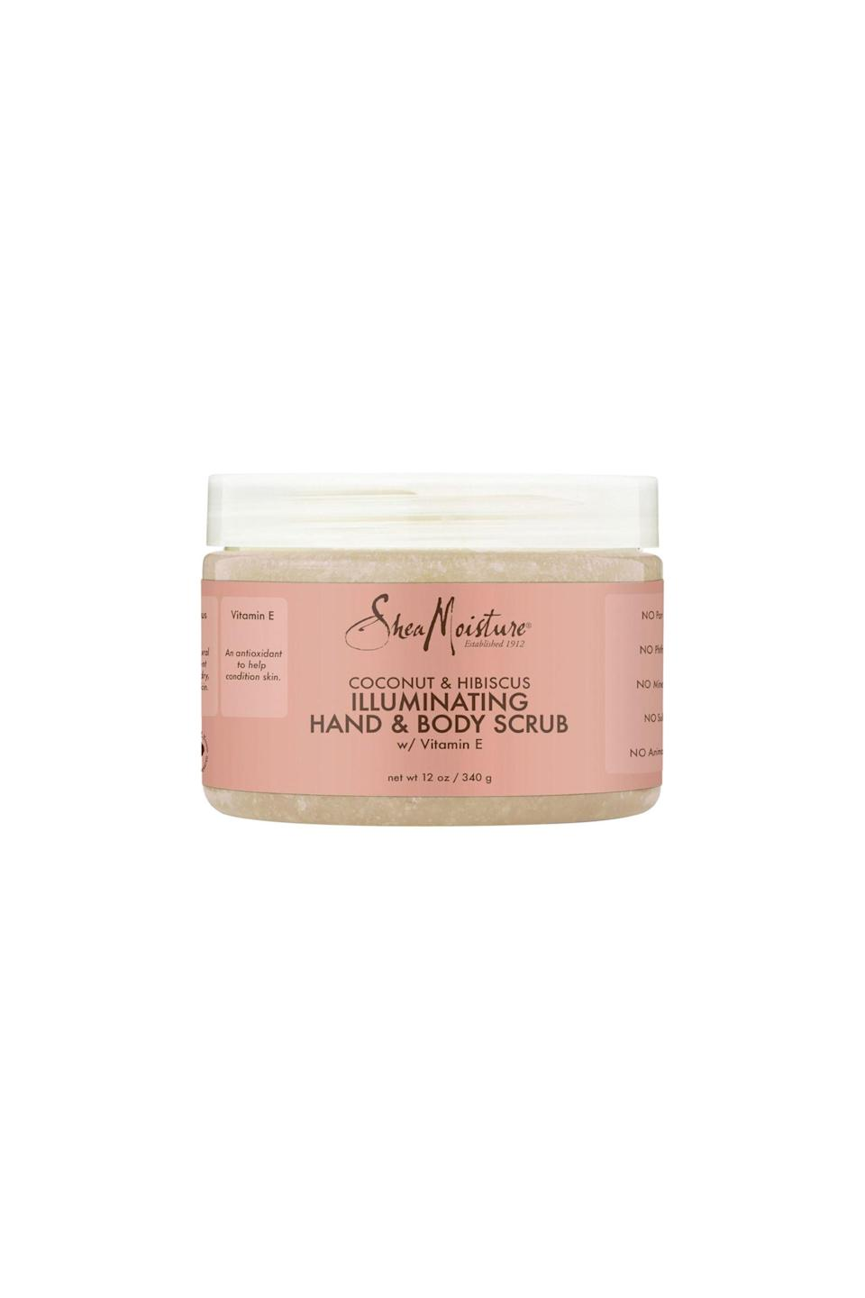 """<p><strong>Shea Moisture</strong></p><p>ulta.com</p><p><strong>$11.99</strong></p><p><a href=""""https://go.redirectingat.com?id=74968X1596630&url=https%3A%2F%2Fwww.ulta.com%2Fcoconut-hibiscus-hand-body-scrub%3FproductId%3DxlsImpprod12081143&sref=https%3A%2F%2Fwww.cosmopolitan.com%2Fstyle-beauty%2Ffashion%2Fg36052314%2Fstepmom-gifts%2F"""" rel=""""nofollow noopener"""" target=""""_blank"""" data-ylk=""""slk:Shop Now"""" class=""""link rapid-noclick-resp"""">Shop Now</a></p><p>Coconut and hibiscus are a match made in heaven—and this moisturizing sugar scrub is here to prove it.</p>"""