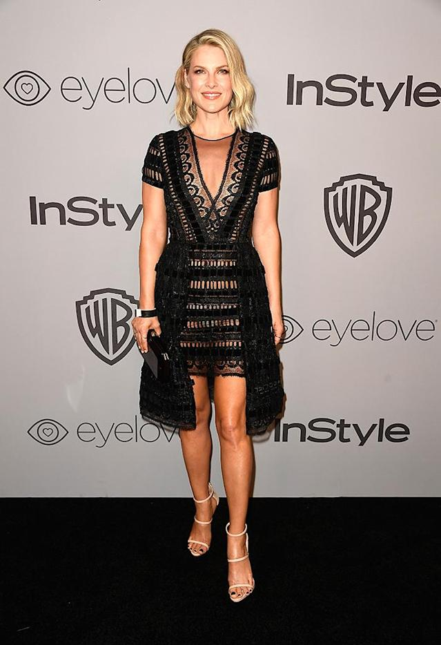 <p>Ali Larter attends the Warner Bros. Pictures and InStyle party. (Photo: Frazer Harrison/Getty Images) </p>