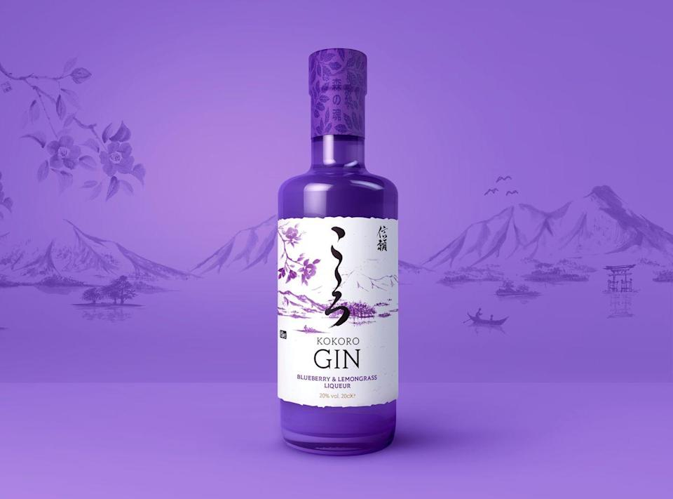 """<p>Well, doesn't this look enchanting? The blueberry and lemongrass flavouring speaks for itself really😍</p><p><strong>£12.50</strong><strong>, Kokoro Gin</strong></p><p><a class=""""link rapid-noclick-resp"""" href=""""https://kokorogin.com/product/kokoro-blueberry-lemongrass-liqueur/?gclid=CjwKCAjwq4fsBRBnEiwANTahcNa-gbshN4-zar-x0pOZqSKDhNKUJzj-G4Vv8cyGcLDEyWSfNIMRUBoCgecQAvD_BwE"""" rel=""""nofollow noopener"""" target=""""_blank"""" data-ylk=""""slk:BUY NOW"""">BUY NOW</a></p>"""