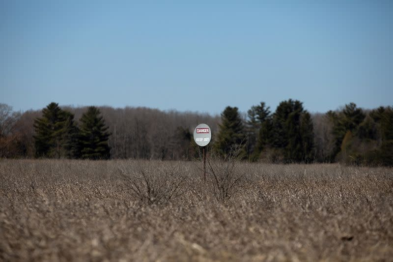 FILE PHOTO: Land used for oil leases