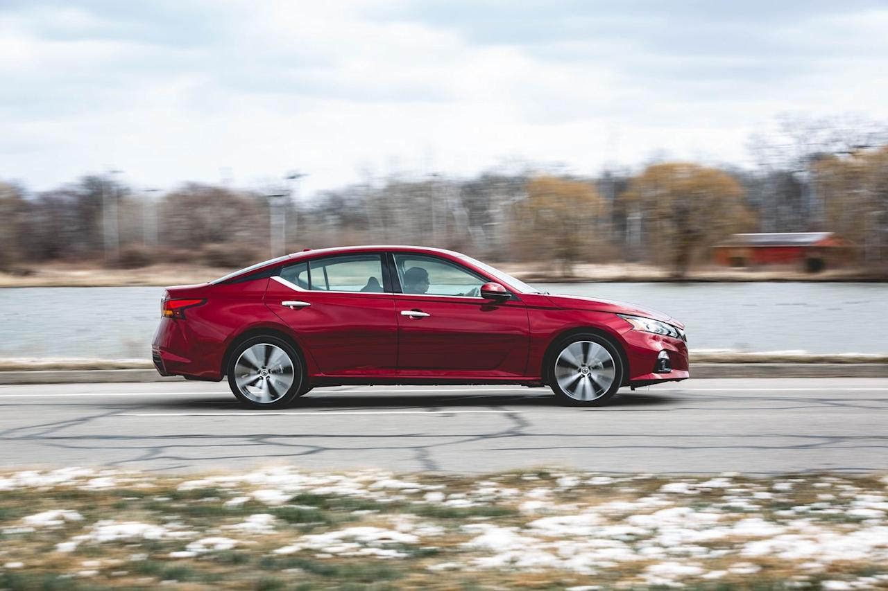"<p>That's one reason we've welcomed the Nissan into our long-term fleet. Another is that we can gauge just how good it is on a daily basis against the gold-standard <a href=""https://www.caranddriver.com/reviews/a25348777/2018-honda-accord-reliability-maintenance/"" target=""_blank"">Accord, one of which is also racking up miles</a> in our long-term lineup.</p>"