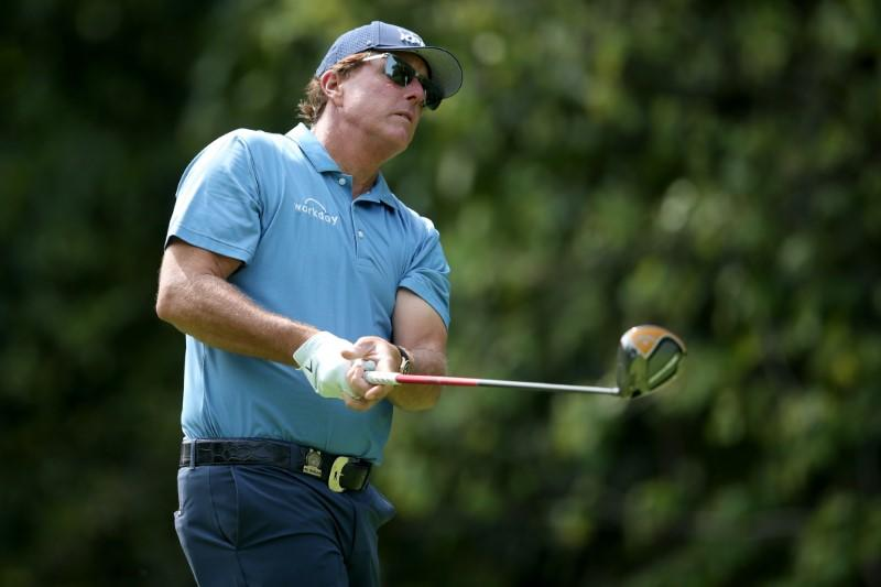Mickelson ready for shot at Winged Foot redemption