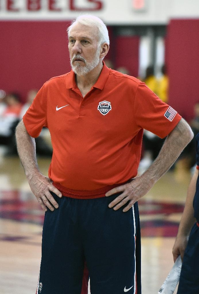 Gregg Popovich will take over as coach of the USA national basketball team (AFP Photo/Ethan Miller)