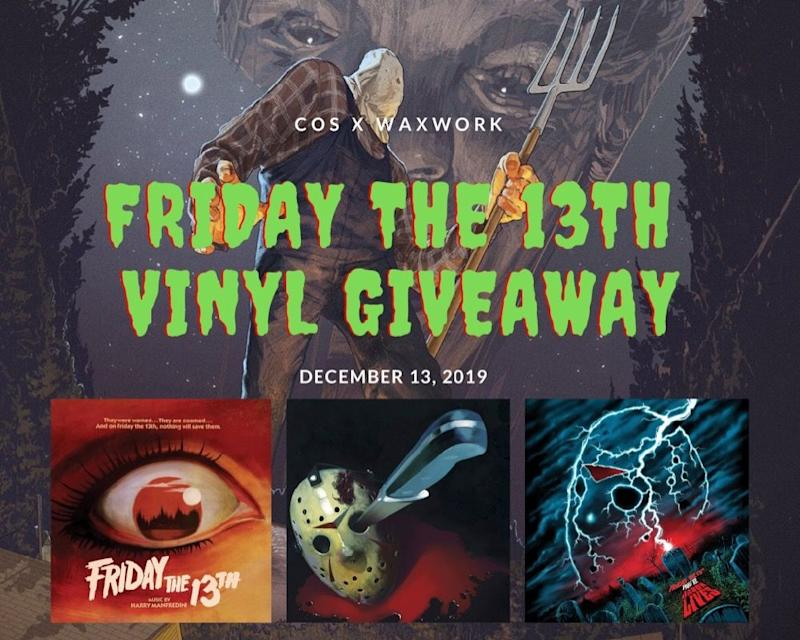 Win the scores to Friday the 13th Parts 1-6 on vinyl!