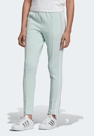 adidas Women Originals SST Track Pants in vapour green