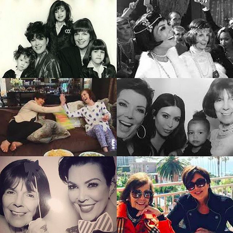 "<p>""Happy birthday to my mom, MJ!"" wrote the Kardashian matriarch, to go along with a collage of some favorite shots. ""I am blessed beyond words to have you as my mother. You have always been my greatest inspiration, my best friend, and the greatest mom anyone could ask for. Thank you for all you do for our family. I love you so much and wish you the happiest of birthdays!! Xo."" (Photo: <a href=""https://www.instagram.com/p/BXAxSEZl_FB/?taken-by=krisjenner"" rel=""nofollow noopener"" target=""_blank"" data-ylk=""slk:Kris Jenner via Instagram"" class=""link rapid-noclick-resp"">Kris Jenner via Instagram</a>) </p>"