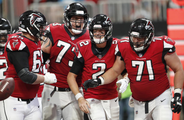 Quarterback Matt Ryan and the Falcons have a big Week 3 game against the Saints. (AP)