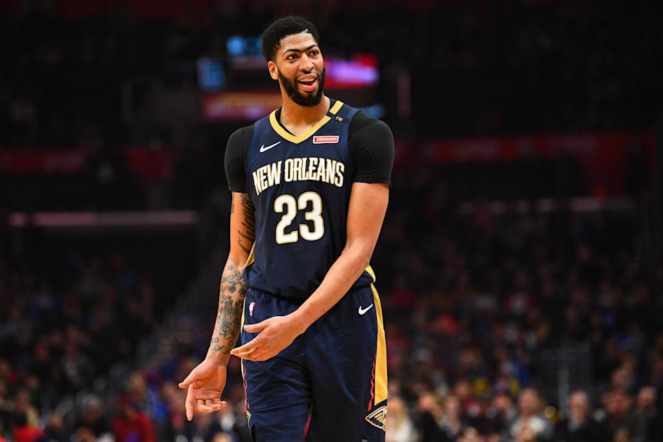 Plenty of teams will be interested in acquiring Anthony Davis. (Getty)