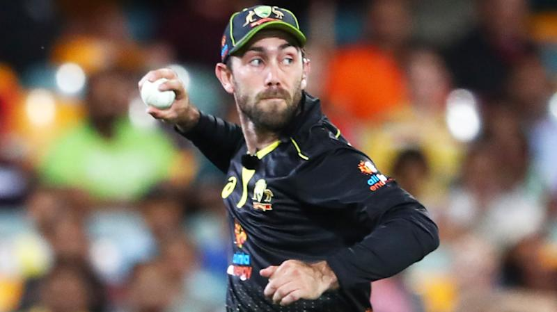 Glenn Maxwell, pictured playing for Australia, has opened up about his mental health break.