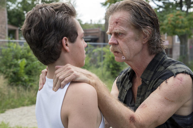 "Ethan Cutkosky and William H. Macy in ""Shameless."" (Showtime)"
