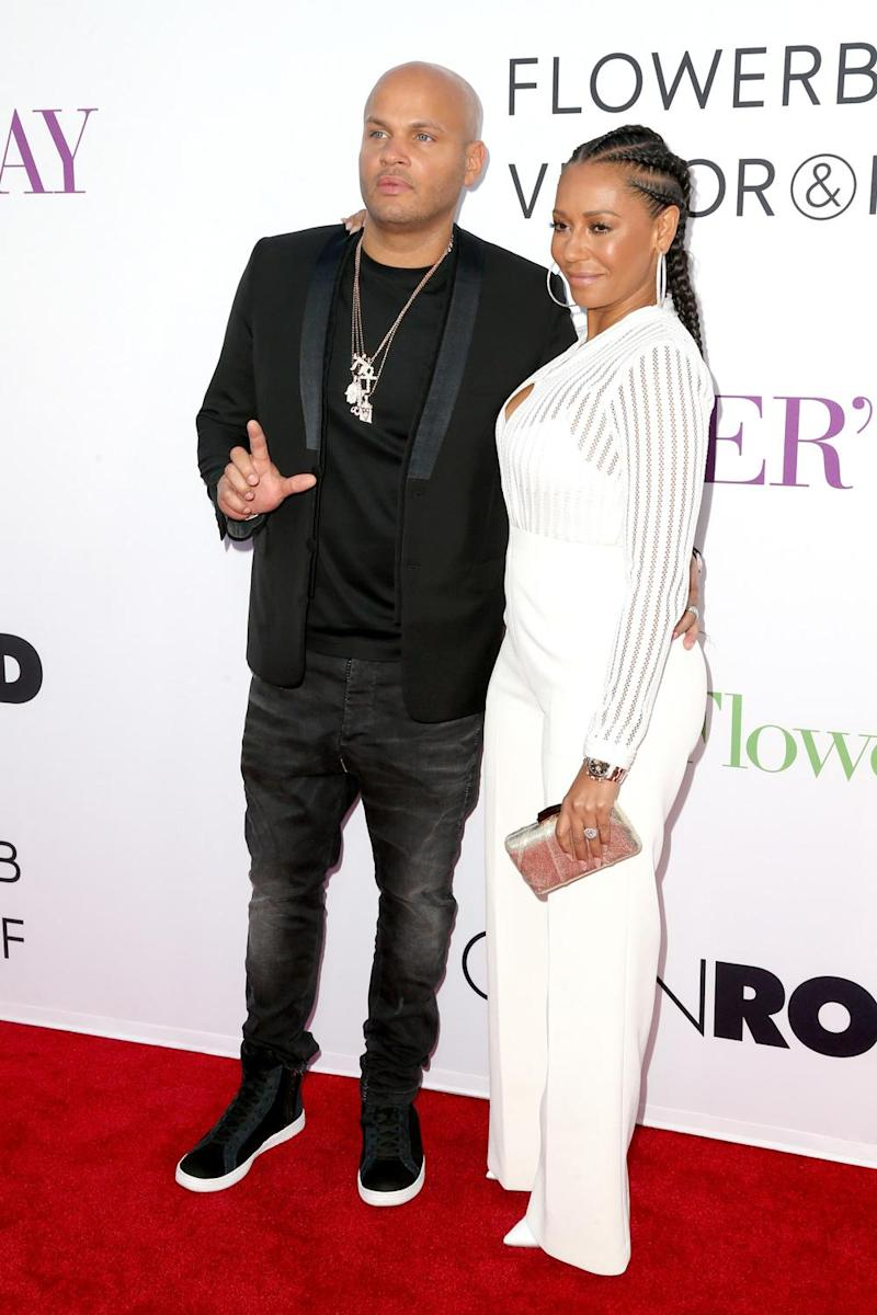 Split: Stephen Belafonte and Mel B have separated amid claims of abuse (Frederick M. Brown/Getty Images)