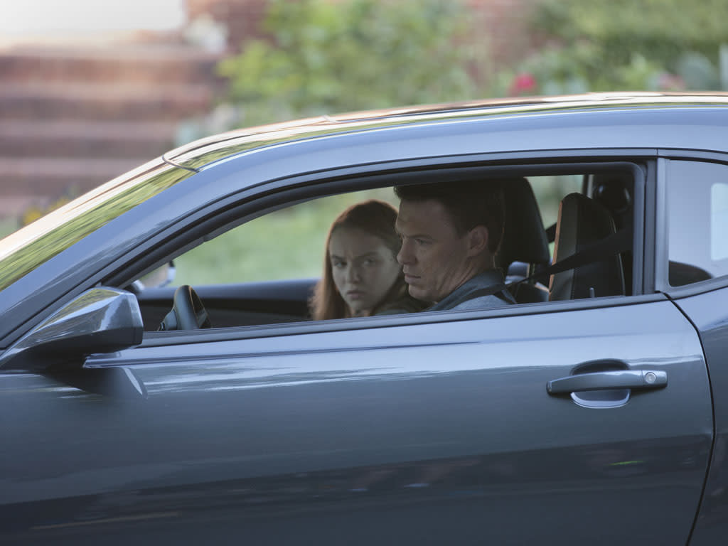 "Morgan Saylor as Dana Brody and Diego Klattenhoff as Mike Faber in the ""Homeland"" Season 2 episode, ""I'll Fly Away."""