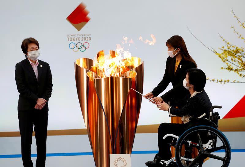 FILE PHOTO: Tokyo 2020 Olympic torch relay