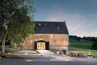 """<p>You'll be fighting other brides and grooms across the world for a wedding date at Anthology Farm. The converted 18th Century barns are settled in 500 acres with a heated indoor pool and a farmhouse table for pre-wedding breakfasts. </p><p>A ceremony can be held in the grounds of the farm inside a bell tent or marquee, where canapés and croquet on the lawn are available, or at one of the quaint churches nearby. </p><p>The farm is available for hire from May to September for up to 70 guests, with up to 50 guests at the wedding brunch on the Sunday included in the cost. Marquees, catering tents and toilet facilities are not included in the cost and carriages are at midnight. </p><p>Find out more <a href=""""https://www.uniquehomestays.com/self-catering/uk/gloucestershire/cheltenham/anthology-farm/?mh_matchtype=b&mh_keyword=&mh_adgroupid=68389198797&gclid=CjwKCAjwnef6BRAgEiwAgv8mQQfSUpdQvBNabLGt_DclOrtQijasCrSX_xy8IwBViUYdyqd1xpipWxoC4GoQAvD_BwE"""" rel=""""nofollow noopener"""" target=""""_blank"""" data-ylk=""""slk:here"""" class=""""link rapid-noclick-resp"""">here</a>. </p>"""