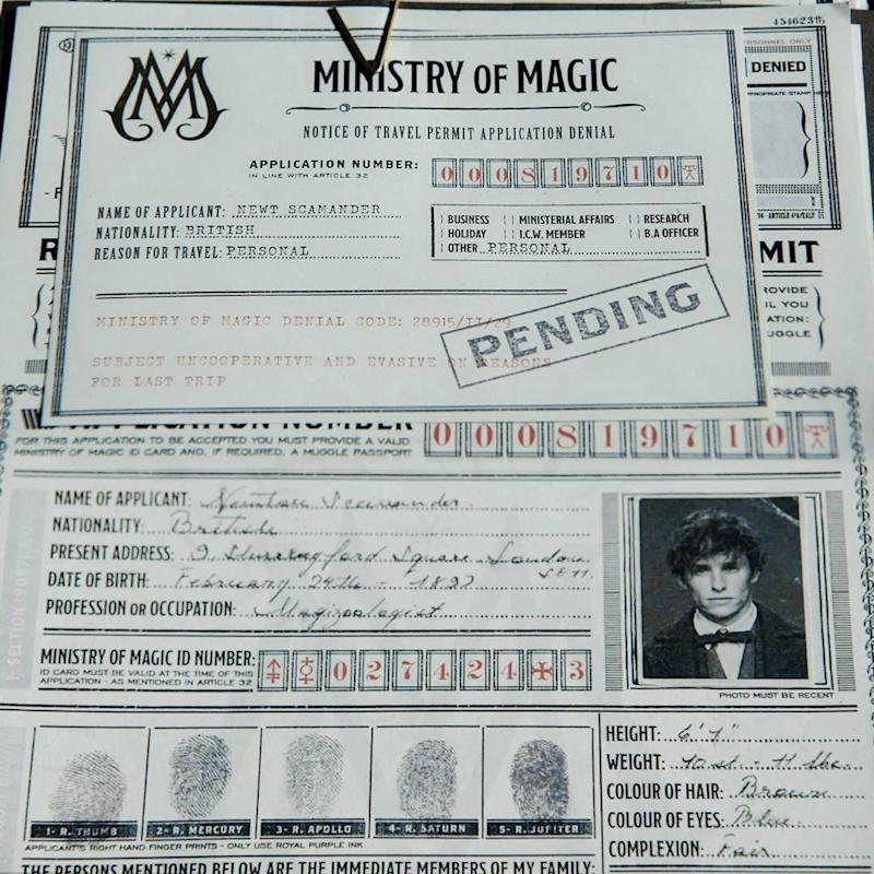 First image Fantastic Beasts And Where To Find Them 2