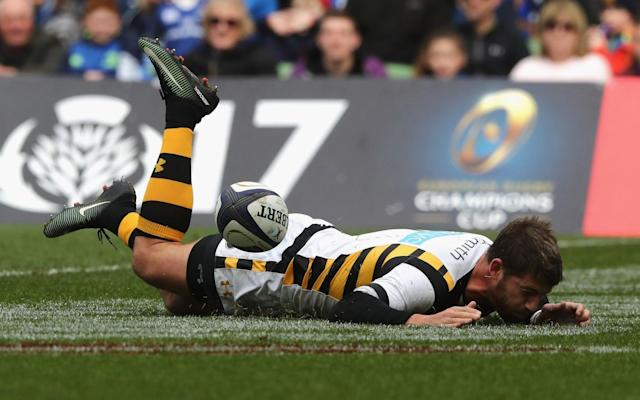 Willie le Roux fails to ground the ball - Getty Images Europe