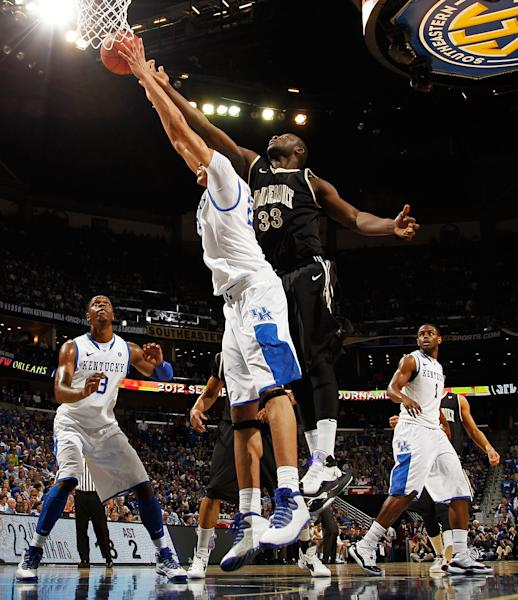 SEC Basketball Tournament - Vanderbilt v Kentucky
