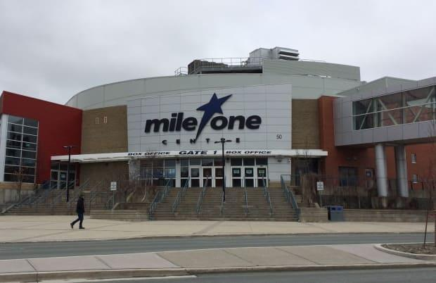 The City of St. John's and the Newfoundland Growlers have reached a new three-year lease agreement for the team to play at Mile One Centre in downtown St. John's. (Jen White/CBC - image credit)