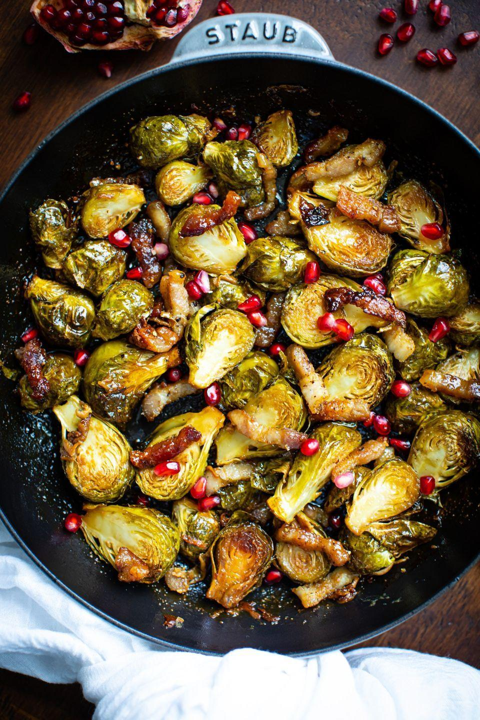 "<p>There are a ton of Brussels sprouts recipes out there, but this one is perfect to serve for such a hearty meal. It all boils down to two words: pork belly.</p><p><strong>Get the recipe at <a href=""https://www.butterbeready.com/maple-roasted-brussels-sprouts-with-pork-belly/"" rel=""nofollow noopener"" target=""_blank"" data-ylk=""slk:Butter Be Ready"" class=""link rapid-noclick-resp"">Butter Be Ready</a>.</strong></p><p><strong><a class=""link rapid-noclick-resp"" href=""https://go.redirectingat.com?id=74968X1596630&url=https%3A%2F%2Fwww.walmart.com%2Fbrowse%2Fhome%2Ftools-gadgets%2Fthe-pioneer-woman%2F4044_623679_133020%2FYnJhbmQ6VGhlIFBpb25lZXIgV29tYW4ie&sref=https%3A%2F%2Fwww.thepioneerwoman.com%2Ffood-cooking%2Fmeals-menus%2Fg33251890%2Fbest-thanksgiving-sides%2F"" rel=""nofollow noopener"" target=""_blank"" data-ylk=""slk:SHOP KITCHEN TOOLS"">SHOP KITCHEN TOOLS</a></strong></p>"