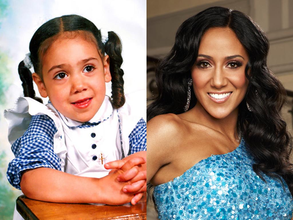 "<b>Melissa Gorga (New Jersey)</b><br><br>New Jersey's youngest and arguably hottest housewife, Melissa Gorga, was once a pig-tailed cutie. But after marrying Teresa Giudice's younger (and richer) brother Joe, the mom of three has traded gingham for Gucci – no wonder she always feels like she's ""on display.""<br><br><a target=""_blank"" href=""http://www.bravotv.com/the-real-housewives-of-new-jersey/season-3/photos/photo-diaries/before-they-were-housewives-melissa"">More Photos of Melissa</a>"
