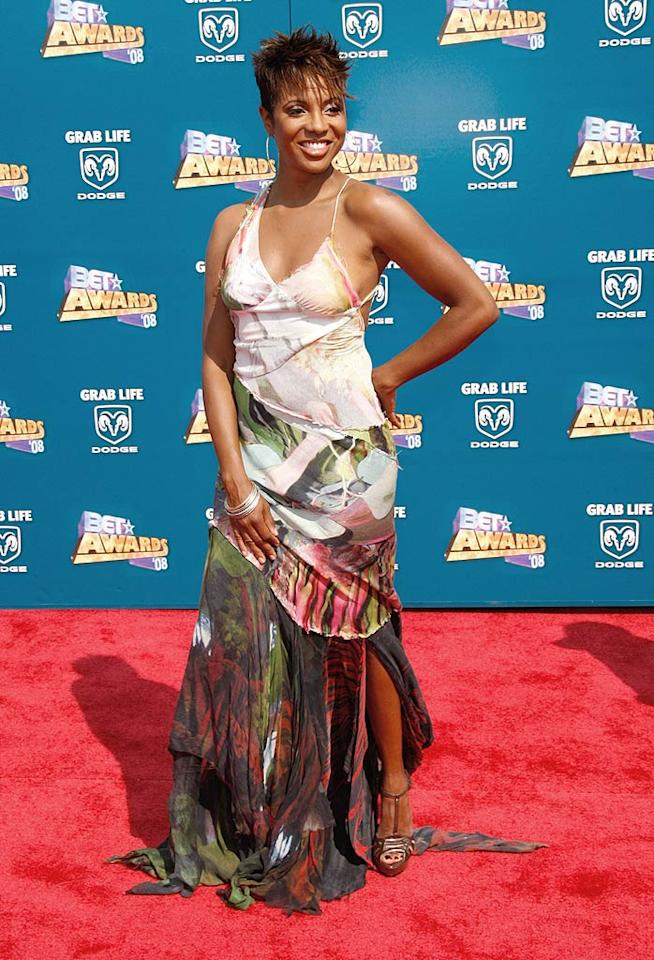 """MC Lyte's tattered tragedy was quite embarrassing. Frazer Harrison/<a href=""""http://www.gettyimages.com/"""" target=""""new"""">GettyImages.com</a> - June 24, 2008"""