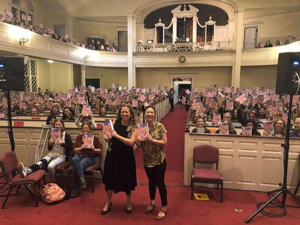 PHOTO: Jodi Picoult and fellow award-winning author Celeste Ng stand together during Picoult's book tour for novel 'A Spark of Light.' (Jodi Picoult)