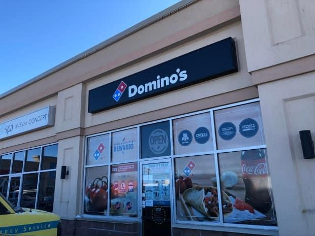This Domino's Pizza location in Summerside is one of three sites where members of the public may have been exposed to the coronavirus that causes COVID-19 in the past week.