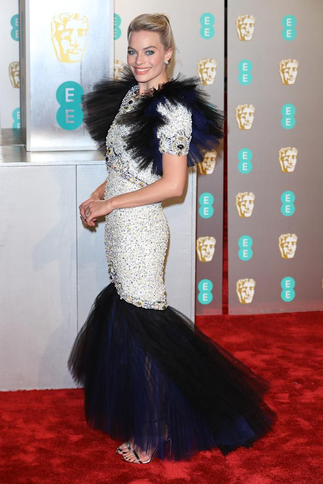 <p>Wearing Chanel haute couture. Photo: Getty Images </p>
