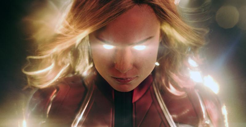 Brie Larson powers up in 'Captain Marvel' (Photo: Walt Disney Studios Motion Pictures / © Marvel / courtesy Everett Collection)