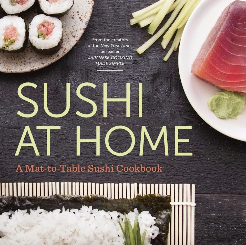 <p>With easy-to-follow tips and techniques, <span><b>Sushi at Home</b> by Rockridge Press</span> ($13) will give them restaurant-quality results in the comfort of their own home.</p>