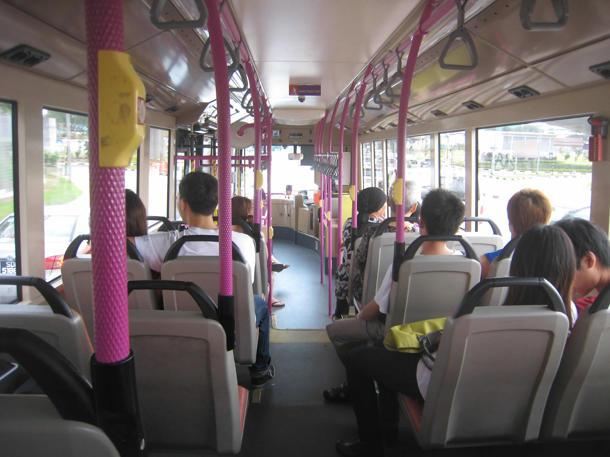 A snake was found onboard SBS bus service 12 on Wednesday. (Yahoo! file photo)