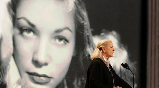 Hollywood screen goddess Lauren Bacall has died, aged 89. Photo: AAP