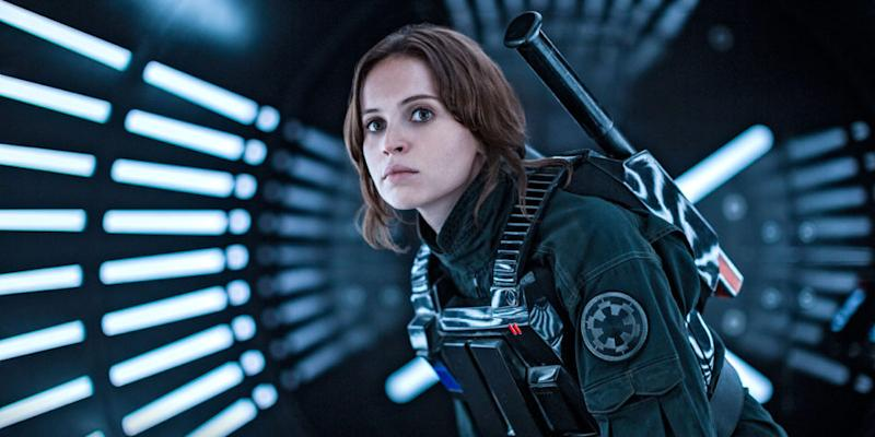 """Felicity Jones was the highest-paid actor in """"Rogue One"""" and here's why that's awesome"""