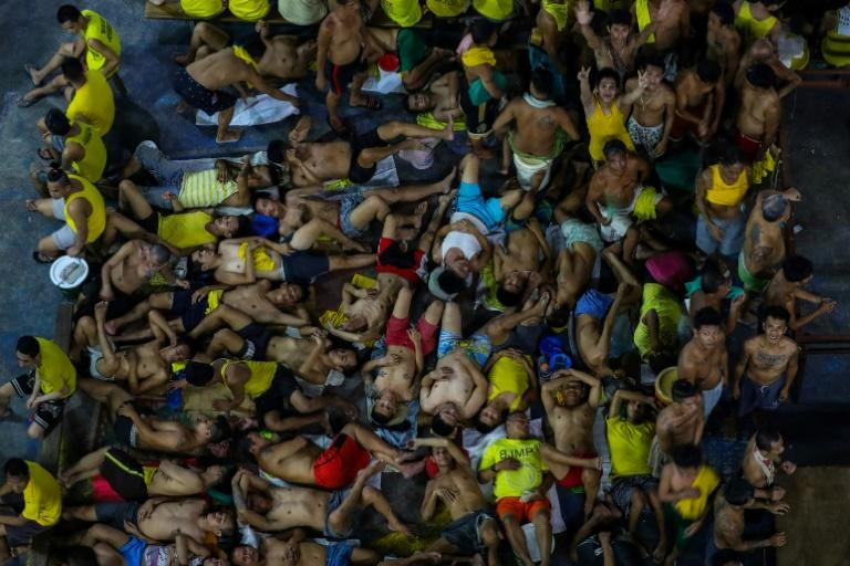File Photo: Philippine jail. (Source: AFP)