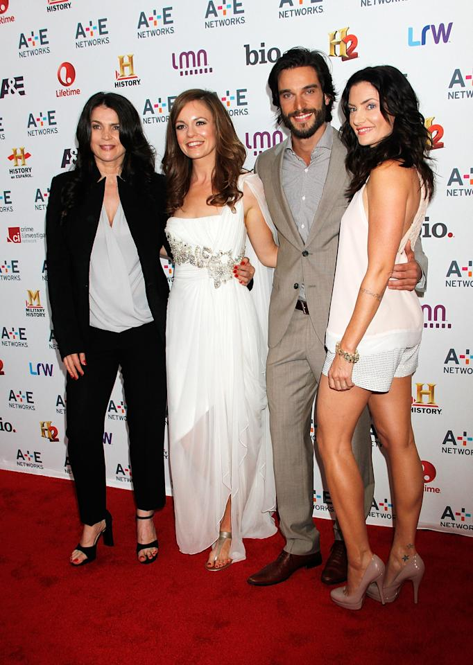 NEW YORK, NY - MAY 08:  Julia Ormond, Rachel Boston, Daniel Ditomasso and Madchen Amick attend A&E Networks 2013 Upfront at Lincoln Center on May 8, 2013 in New York City.  (Photo by Laura Cavanaugh/Getty Images)
